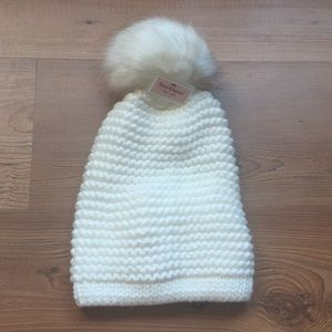 Juicy couture Pom Pom knitted hat beanie